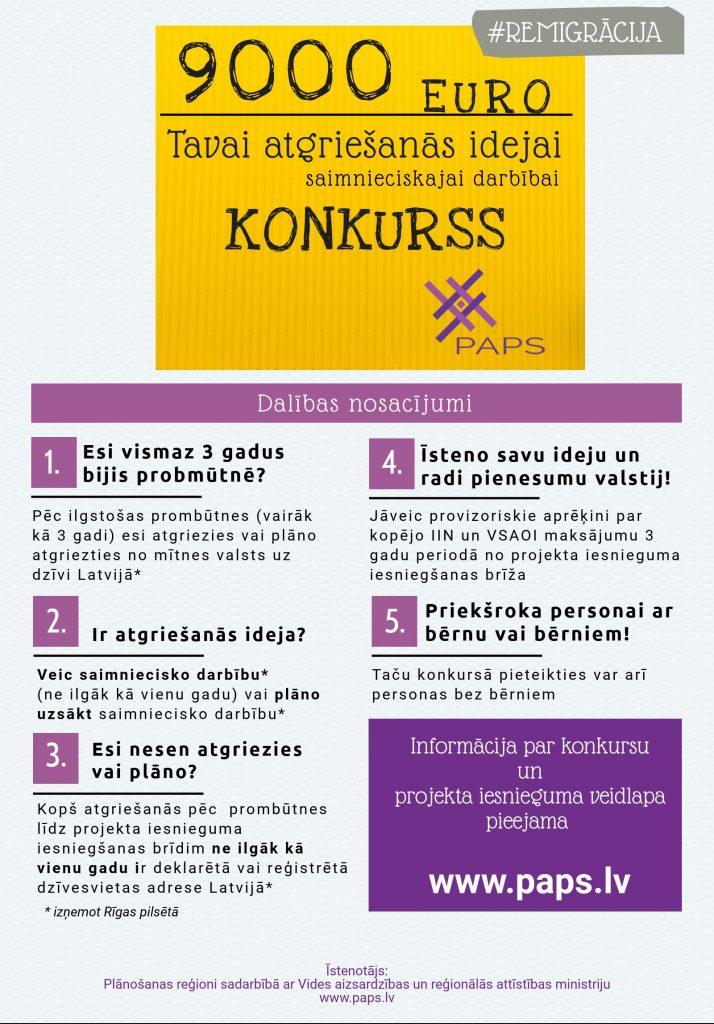 Atgriezies un īsteno savu biznesa ideju Latvijā!