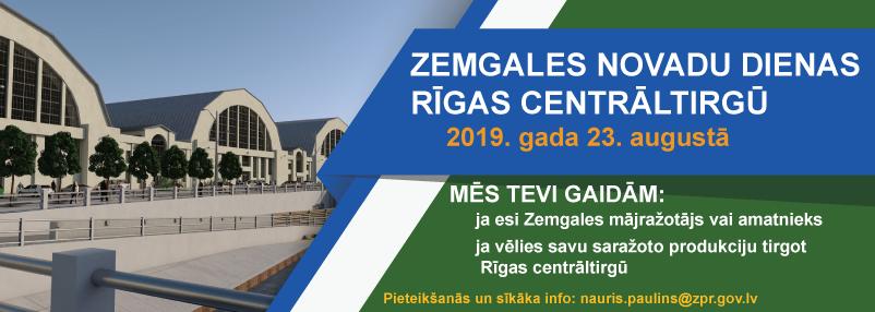 """Mājražotājiem un amatniekiem ir lieliska iespēja piedalīties """"Zemgales novadu dienas Rīgas Centrāltirgū"""""""