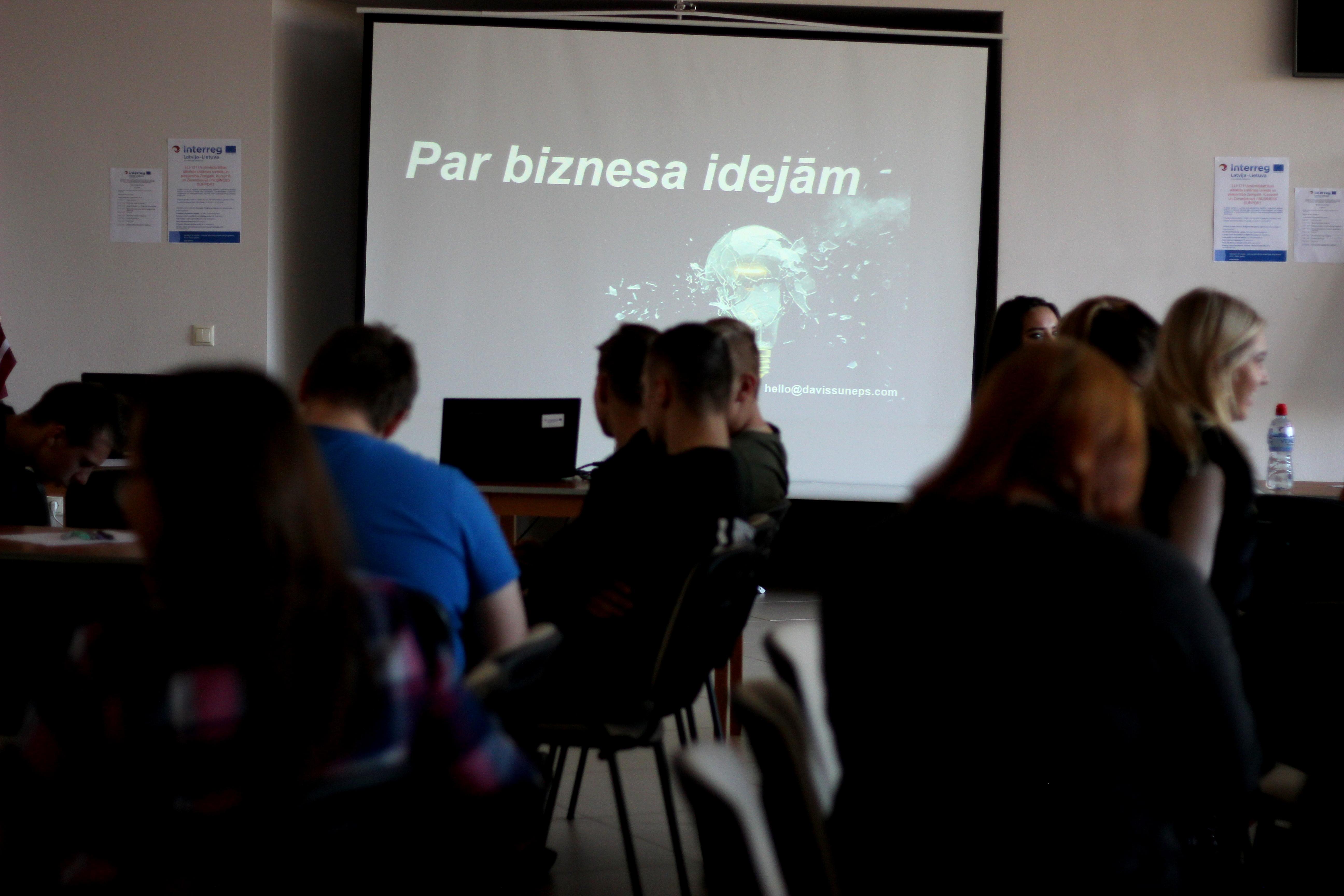 Biznesa ideju darbnīcas 16. un 17. oktobrī